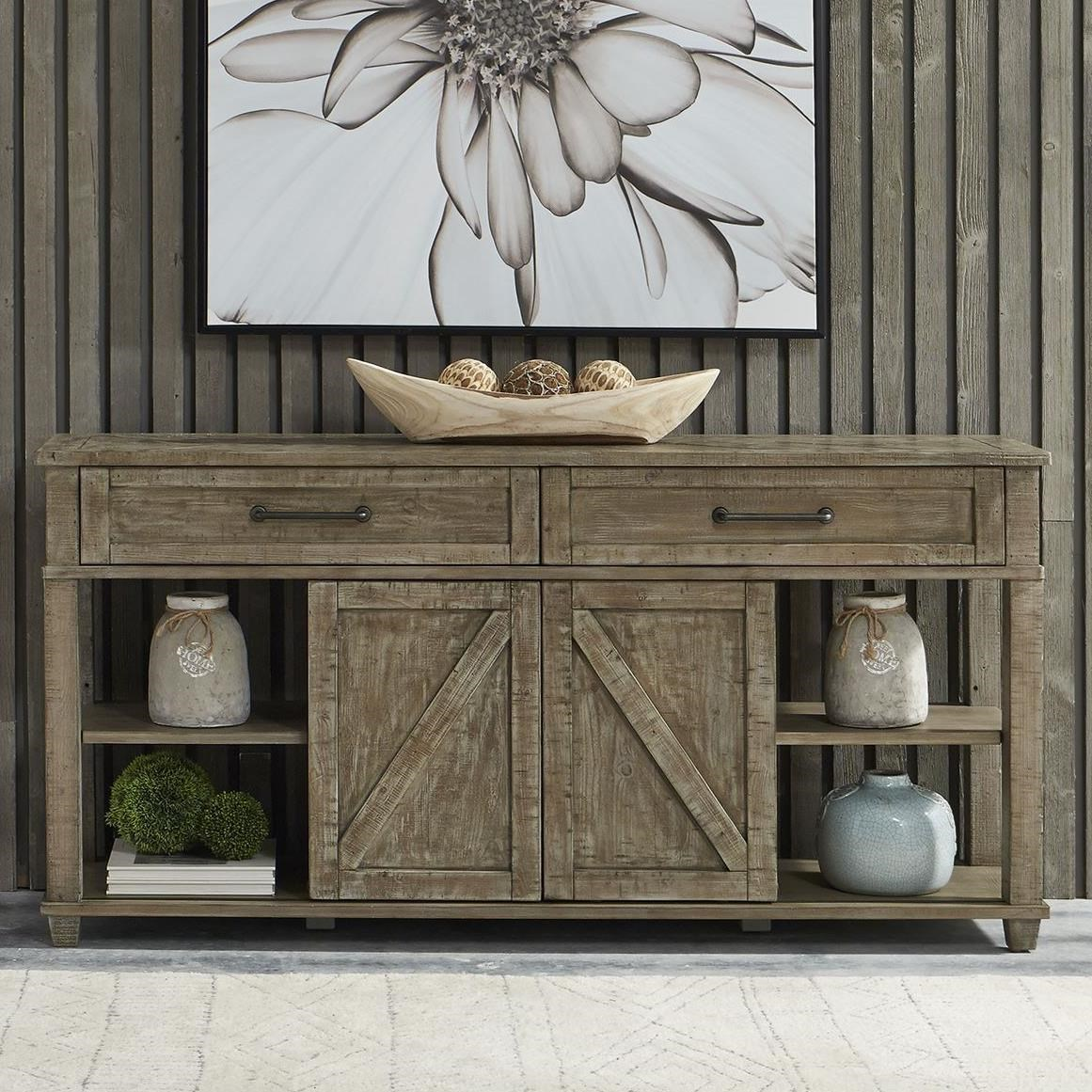 Parkland Falls Sofa Table by Liberty Furniture at Darvin Furniture