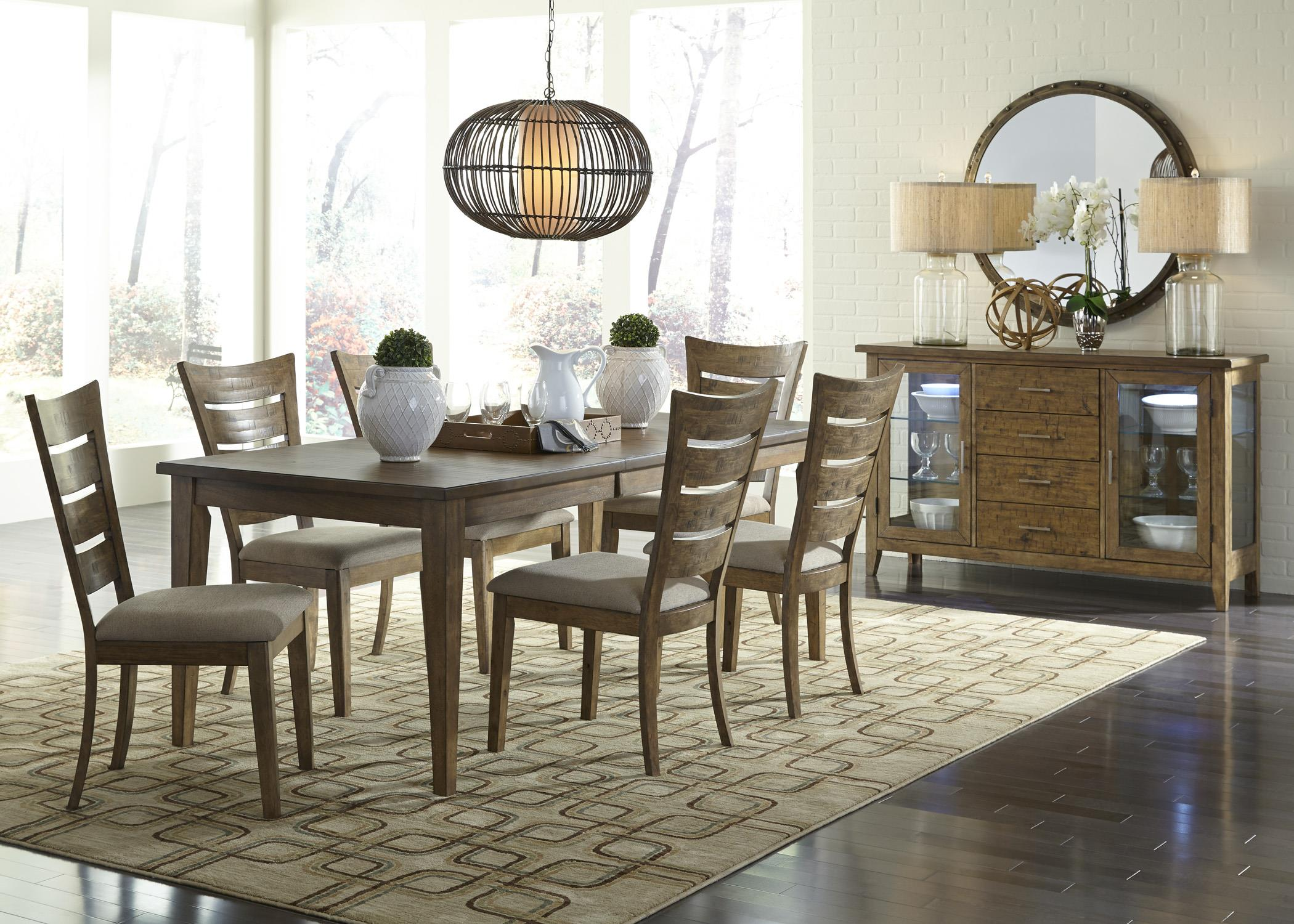 Vendor 5349 pebble creek casual dining room group becker for Casual dining room