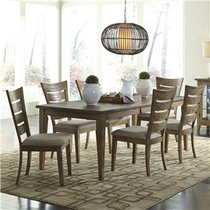 Liberty Furniture Pebble Creek 7 Piece Dining Set