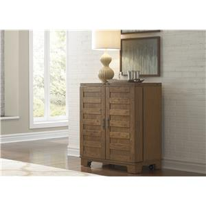 Liberty Furniture Pebble Creek Wine Cabinet