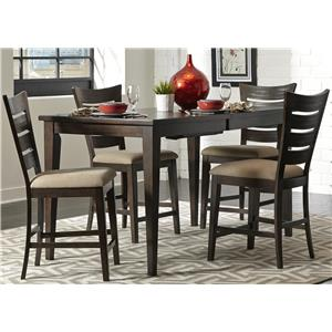 Vendor 5349 Pebble Creek 5 Piece Gathering Table Set
