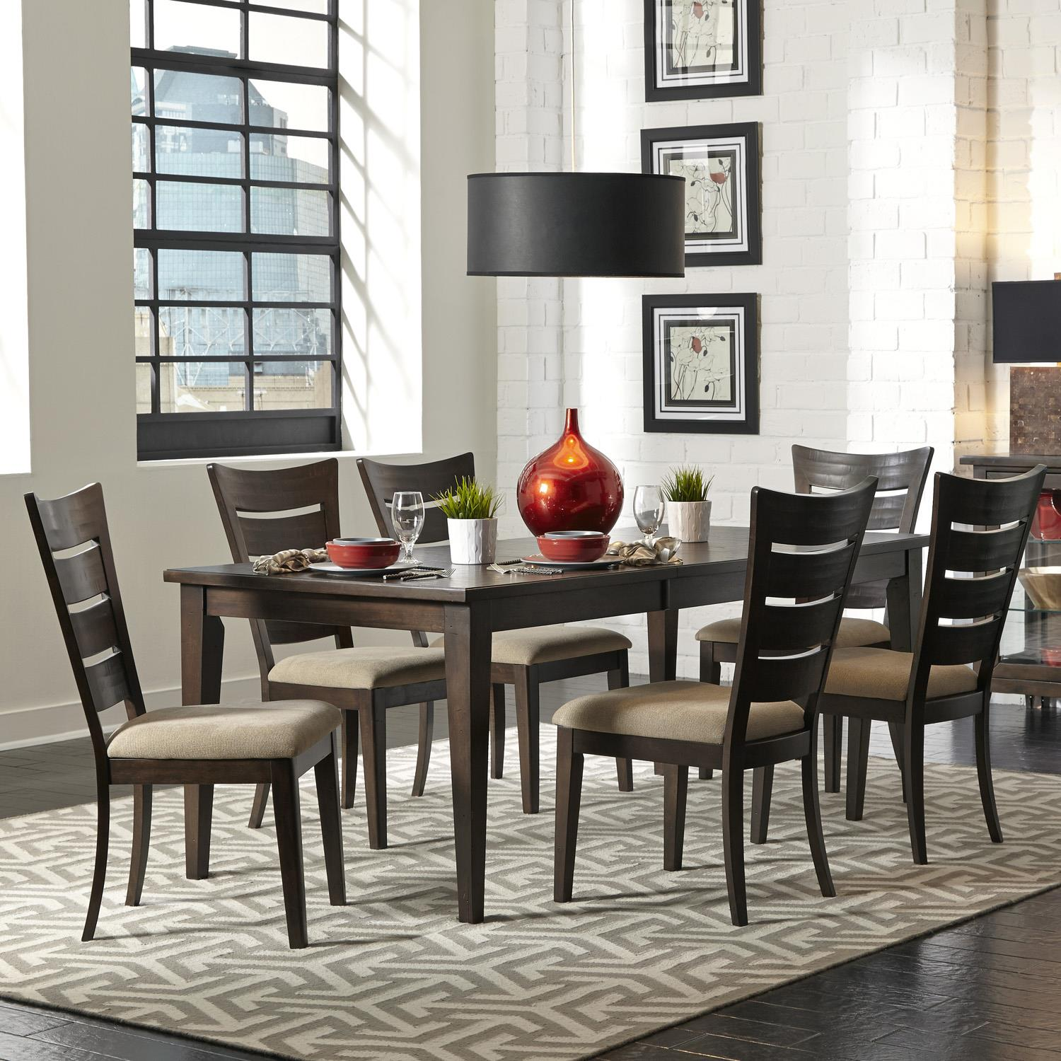 Vendor 5349 Pebble Creek 7 Piece Dining Set - Item Number: 476-CD-7RLS