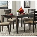 Liberty Furniture Pebble Creek Rectangular Leg Table - Item Number: 476-T3681