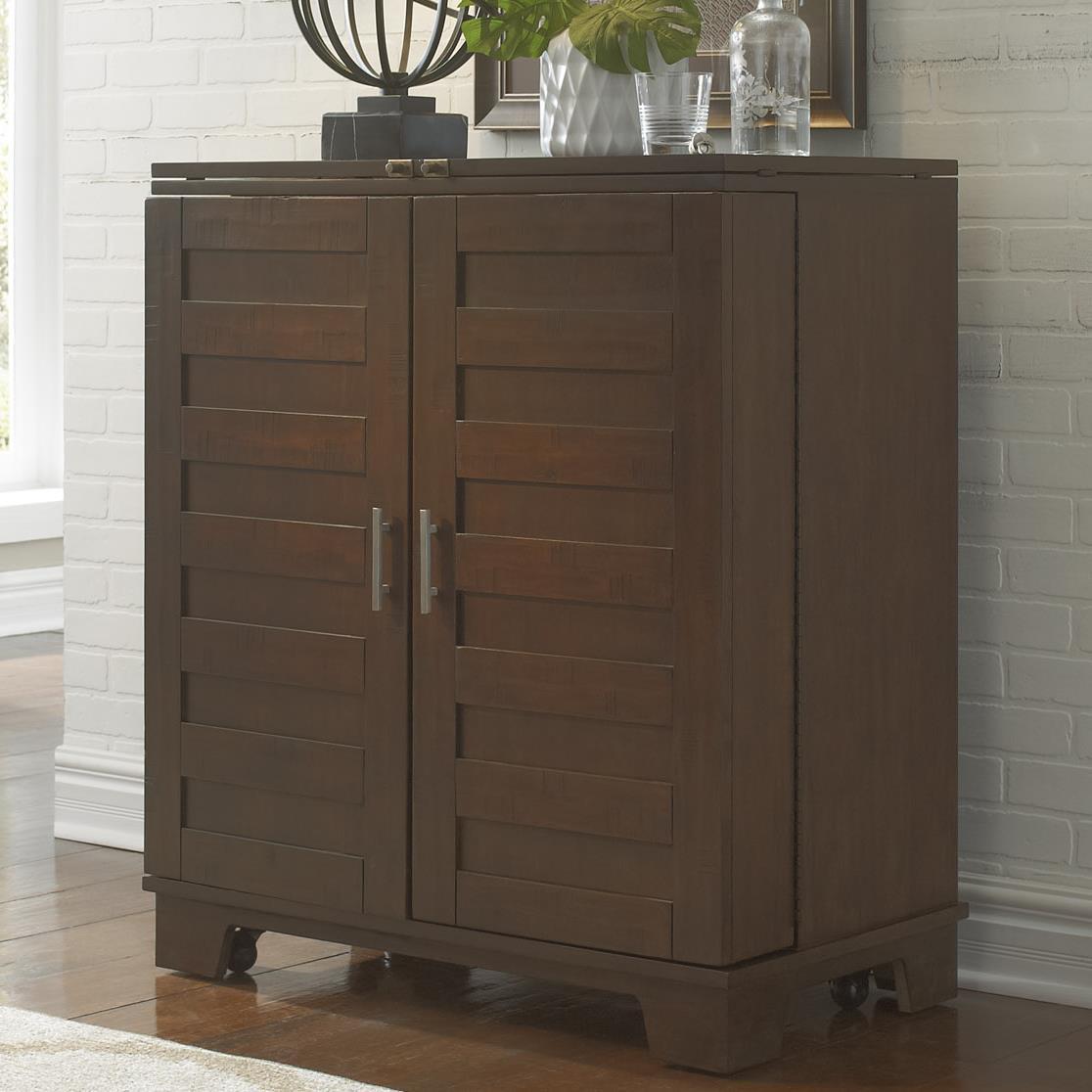 Liberty Furniture Pebble Creek Wine Cabinet - Item Number: 476-WC3742