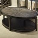 Liberty Furniture Penton Oval Cocktail Table - Item Number: 268-OT1010