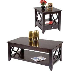 Vendor 5349 Piedmont 3 Piece Accent Tables Set