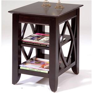 Vendor 5349 Piedmont Shelf End Table