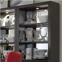 Vendor 5349 Platinum Curio Hutch - Item Number: 861-CH3034