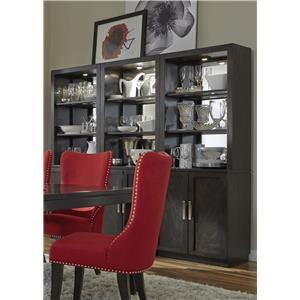 Liberty Furniture Platinum Dining Wall Unit
