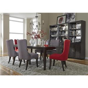 Liberty Furniture Platinum Contemporary Dining Table Group