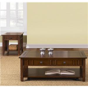 Liberty Furniture Prairie Hills 3-Piece Table Set