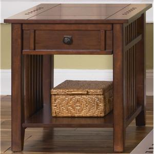 Liberty Furniture Prairie Hills End Table