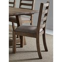 Liberty Furniture Prescott Valley Dining Ladder Back Side Chair - Item Number: 178-C2001S