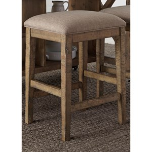 Liberty Furniture Prescott Valley Upholstered Barstool