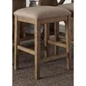 Liberty Furniture Prescott Valley Upholstered Barstool - Item Number: 178-B000124