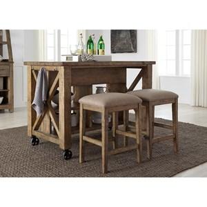 Liberty Furniture Prescott Valley Gathering Table Set