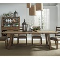 "Liberty Furniture Prescott Valley 96"" Dining Table - Item Number: 178-CD-TRS"