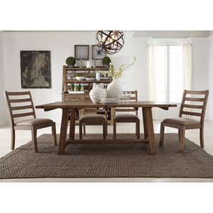 Liberty Furniture Prescott Valley Casual Dining Room Group
