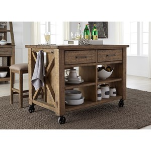 Liberty Furniture Prescott Valley Kitchen Island