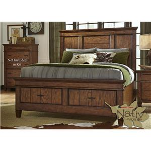 Vendor 5349 Rocky Mountain 616 Queen Storage Bed