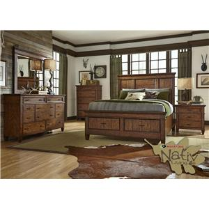 Liberty Furniture Rocky Mountain 616 Queen Bedroom Group