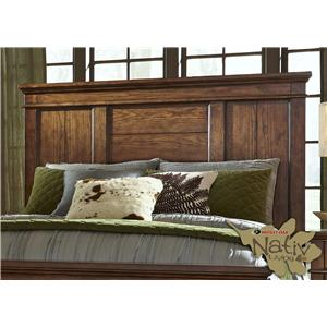 Liberty Furniture Rocky Mountain 616 Queen Panel Headboard