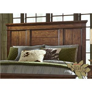 Liberty Furniture Rocky Mountain 616 King Panel Headboard