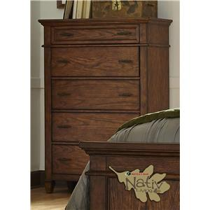 Liberty Furniture Rocky Mountain 616 5 Drawer Chest