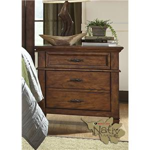 Liberty Furniture Rocky Mountain 616 2 Drawer Night Stand
