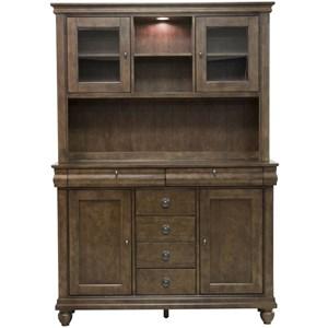 Liberty Furniture Rustic Traditions Server & Hutch