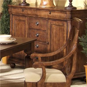 Liberty Furniture Rustic Traditions 6-Drawer Server