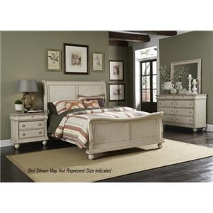 Liberty Furniture Rustic Traditions 4PC Queen Bedroom