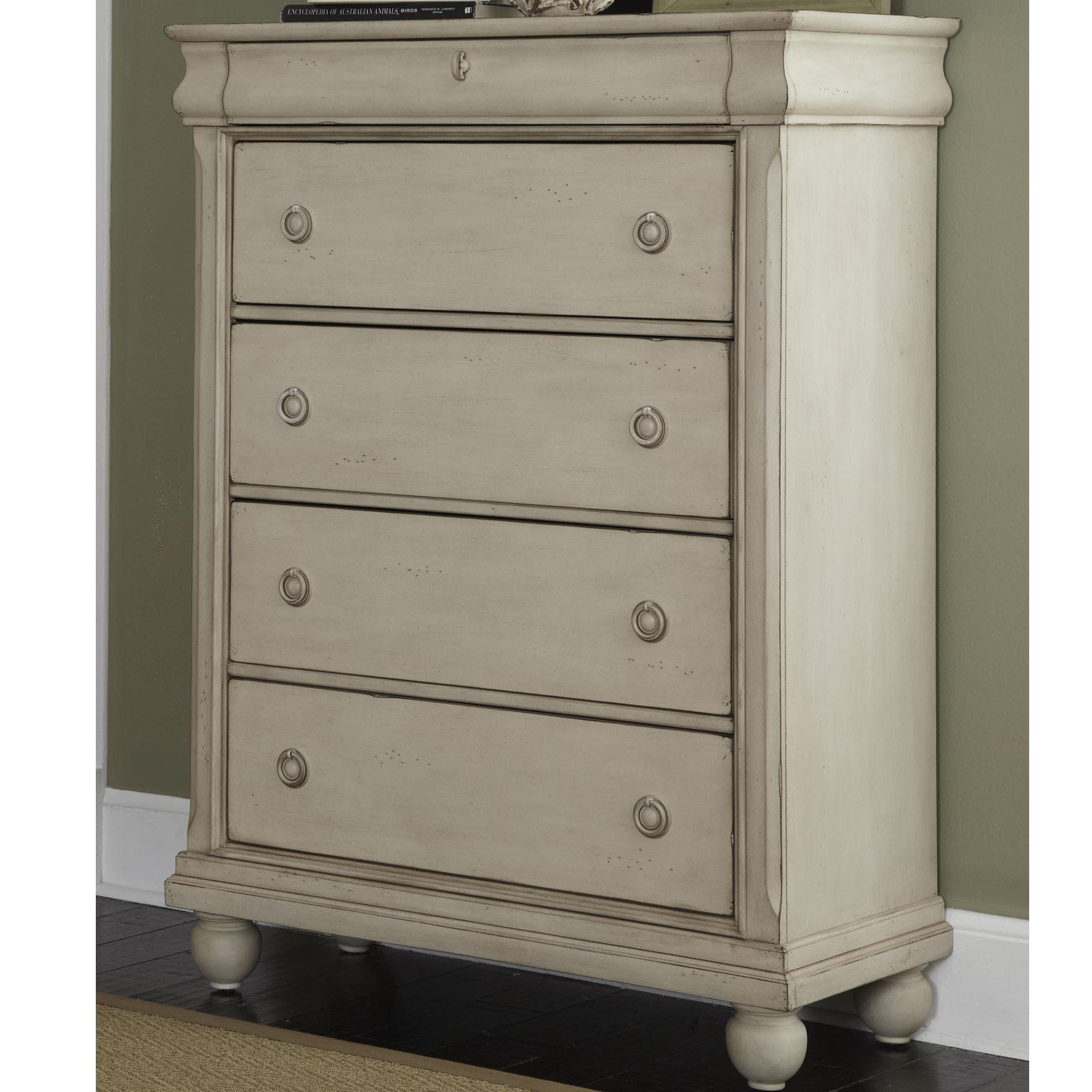 Liberty Furniture Rustic Traditions Chest - Item Number: 689-BR41