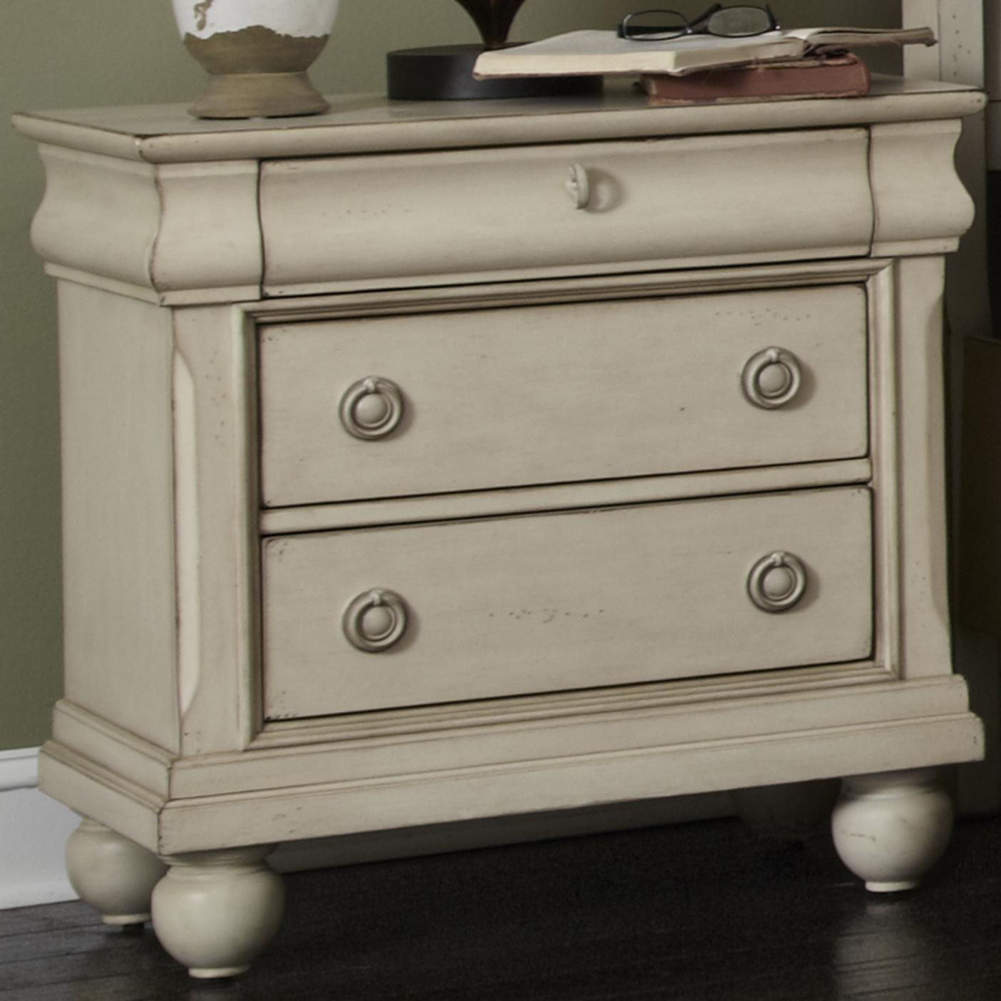 Liberty Furniture Rustic Traditions Night Stand - Item Number: 689-BR61