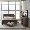 Vendor 5349 Saddlebrook King Bedroom Group - Item Number: 184-BR-KPBDM