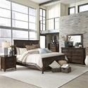 Liberty Furniture Saddlebrook Queen Bedroom Group - Item Number: 184-BR-QPBDMCN