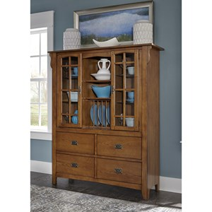 Liberty Furniture Santa Rosa Display Cabinet