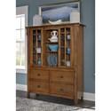 Liberty Furniture Santa Rosa Display Cabinet - Item Number: 25-CH5567
