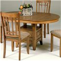Vendor 5349 Santa Rosa Pedestal Table - Item Number: 25-P4866+T
