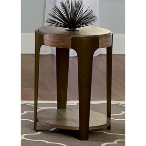Liberty Furniture Sapphire Lakes Round End Table