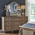 Liberty Furniture 412-BR Dresser & Mirror Set - Item Number: 412-BR-DM
