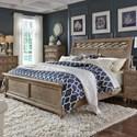 Liberty Furniture 412-BR King Sleigh Bed  - Item Number: 412-BR-KSL