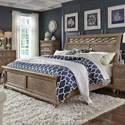 Liberty Furniture 412-BR Queen Sleigh Bed  - Item Number: 412-BR-QSL