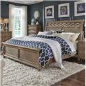 Liberty Furniture Simply Elegant Queen Sleigh Bed  - Item Number: 412-BR-QSL