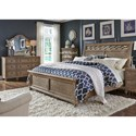 Liberty Furniture Simply Elegant Queen Bedroom Group - Item Number: 412-BR-QSLDM