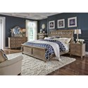 Liberty Furniture 412-BR Queen Bedroom Group - Item Number: 412-BR-QSLDMN