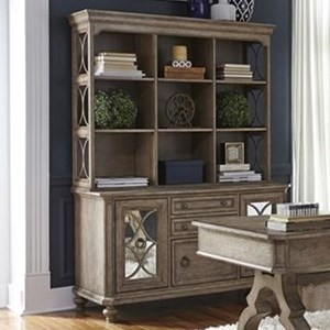Liberty Furniture Simply Elegant Credenza and Hutch