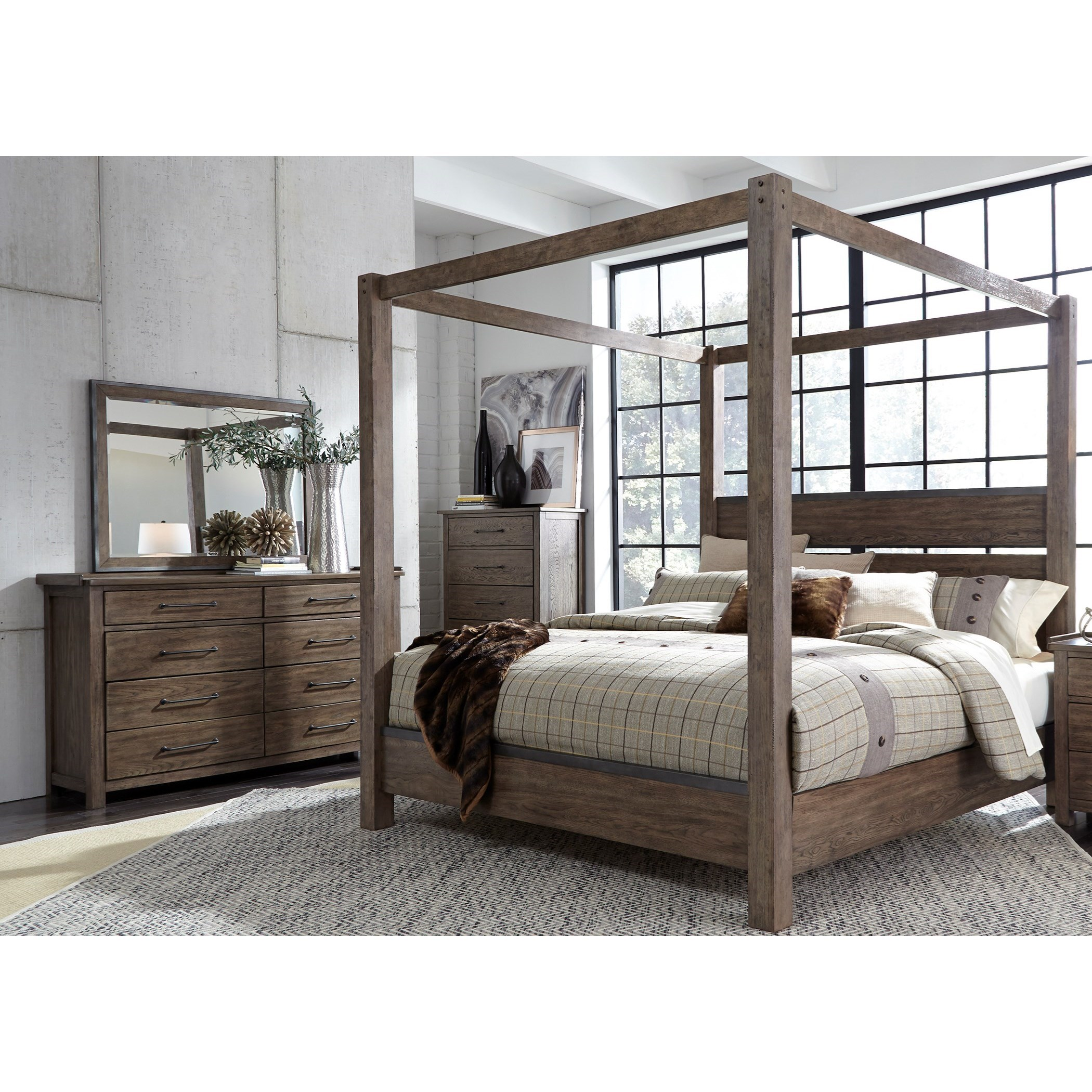 Liberty Furniture Sonoma Road King Bedroom Group - Item Number: 473-BR-KCBDMC