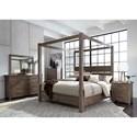 Liberty Furniture Sonoma Road Queen Bedroom Group - Item Number: 473-BR-QCBDMCN