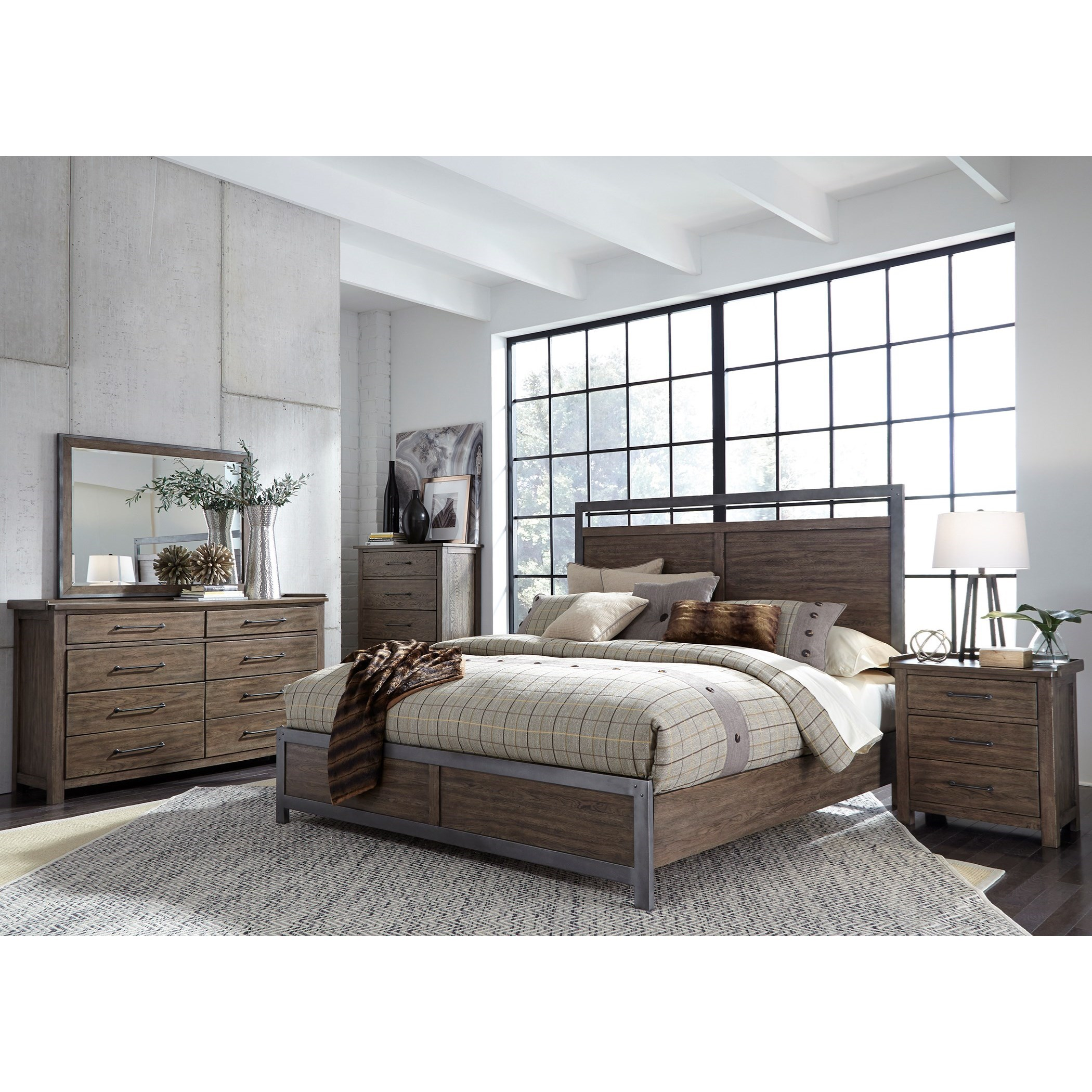 Liberty Furniture Sonoma Road Queen Bedroom Group Royal